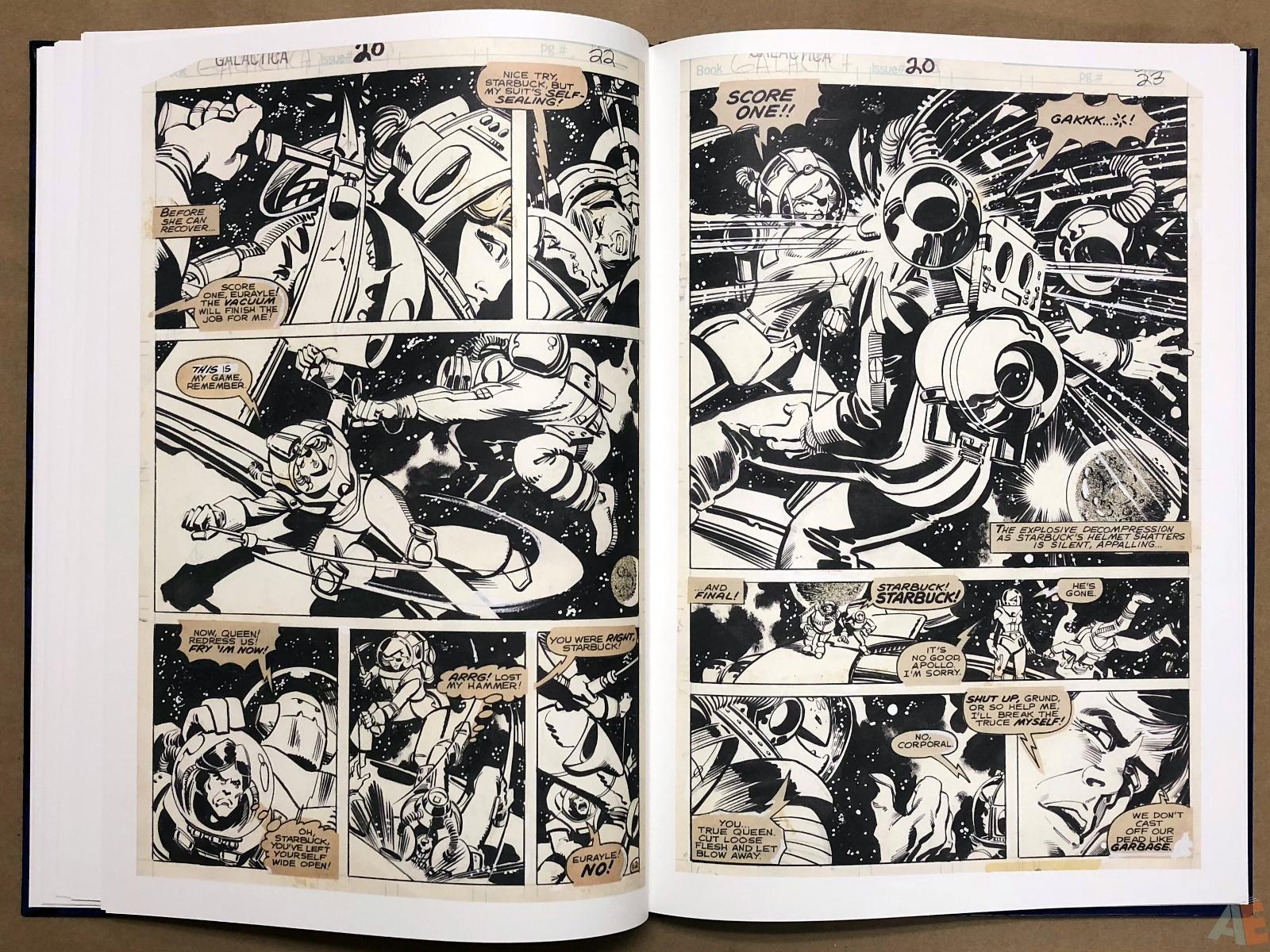 Walter Simonson's Battlestar Galactica Art Edition 18