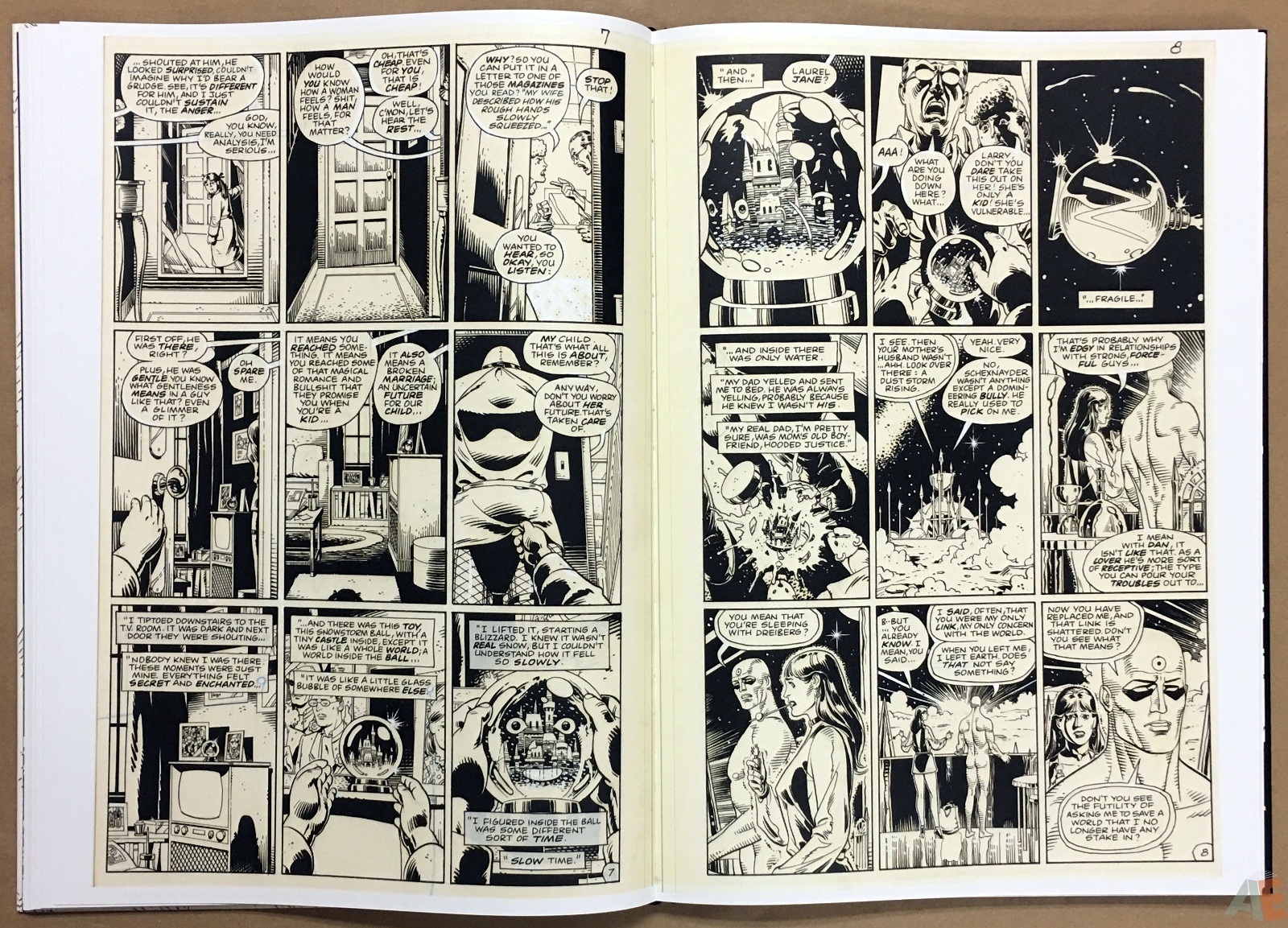 Dave Gibbons Watchmen Artifact Edition 22