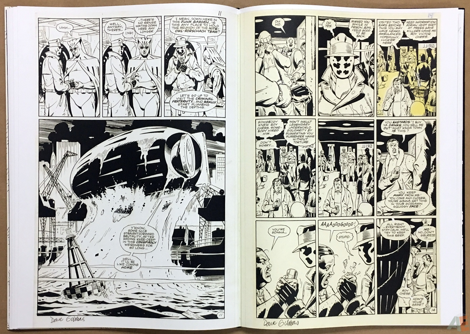 Dave Gibbons Watchmen Artifact Edition 24