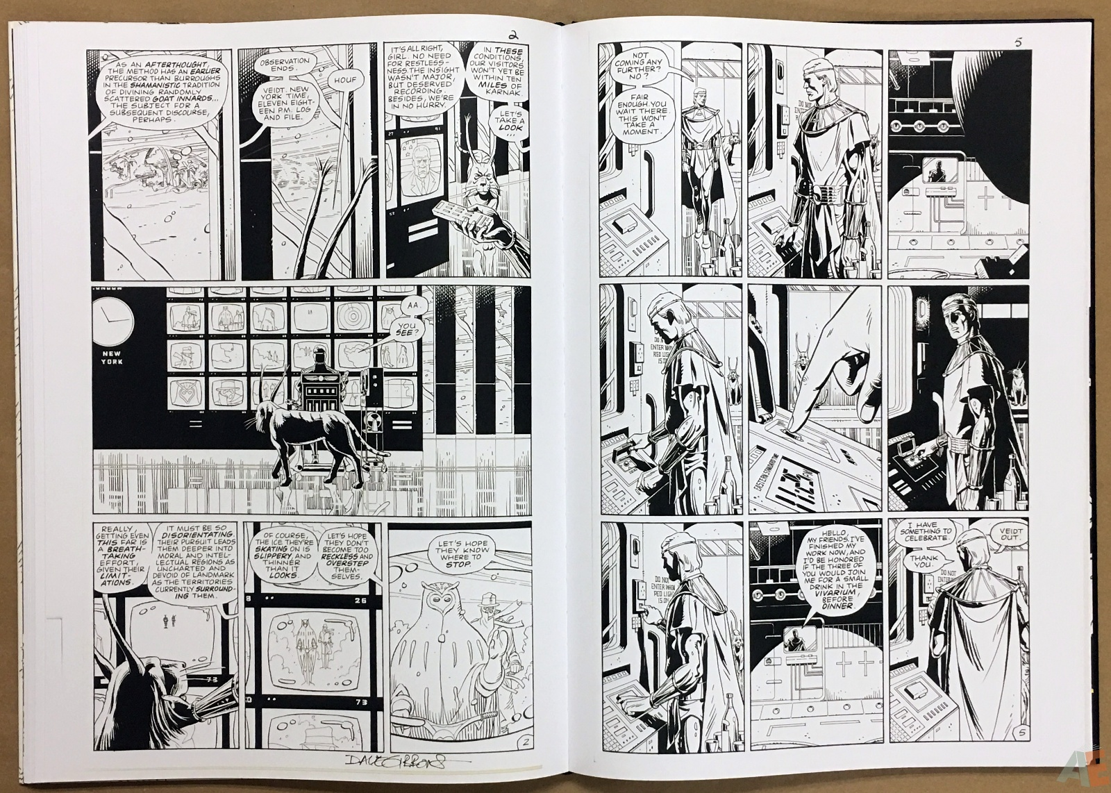 Dave Gibbons Watchmen Artifact Edition 26