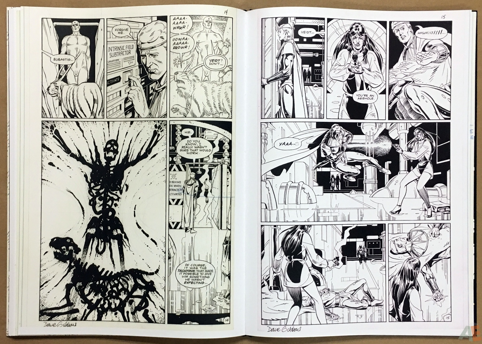 Dave Gibbons Watchmen Artifact Edition 30