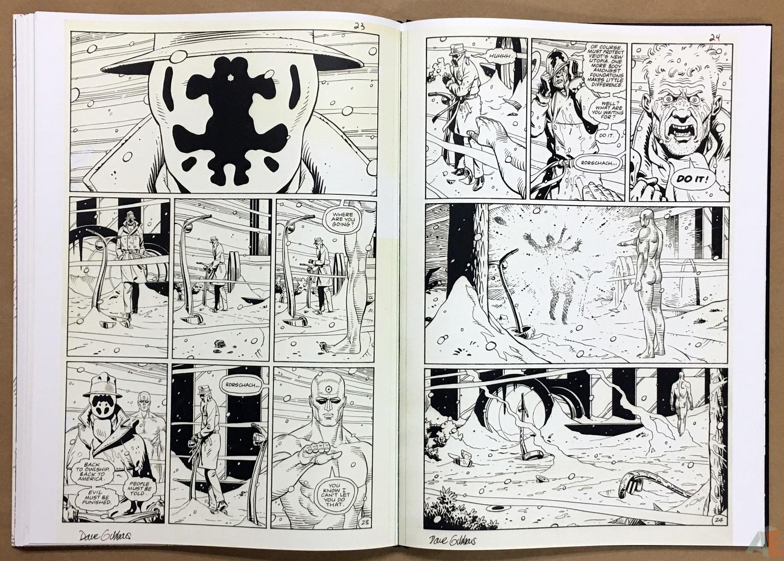Dave Gibbons Watchmen Artifact Edition 32