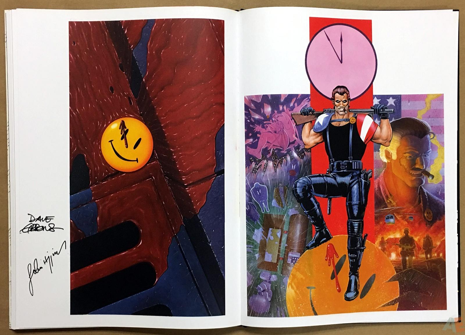 Dave Gibbons Watchmen Artifact Edition 38
