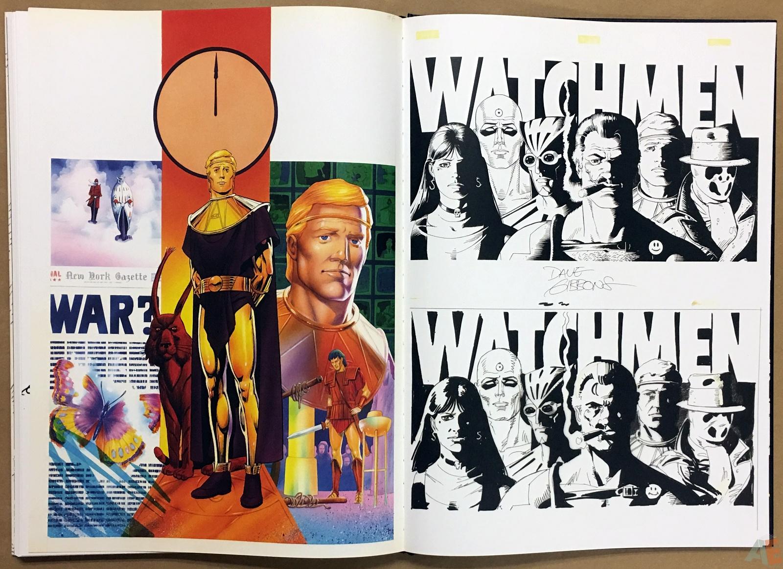 Dave Gibbons Watchmen Artifact Edition 40