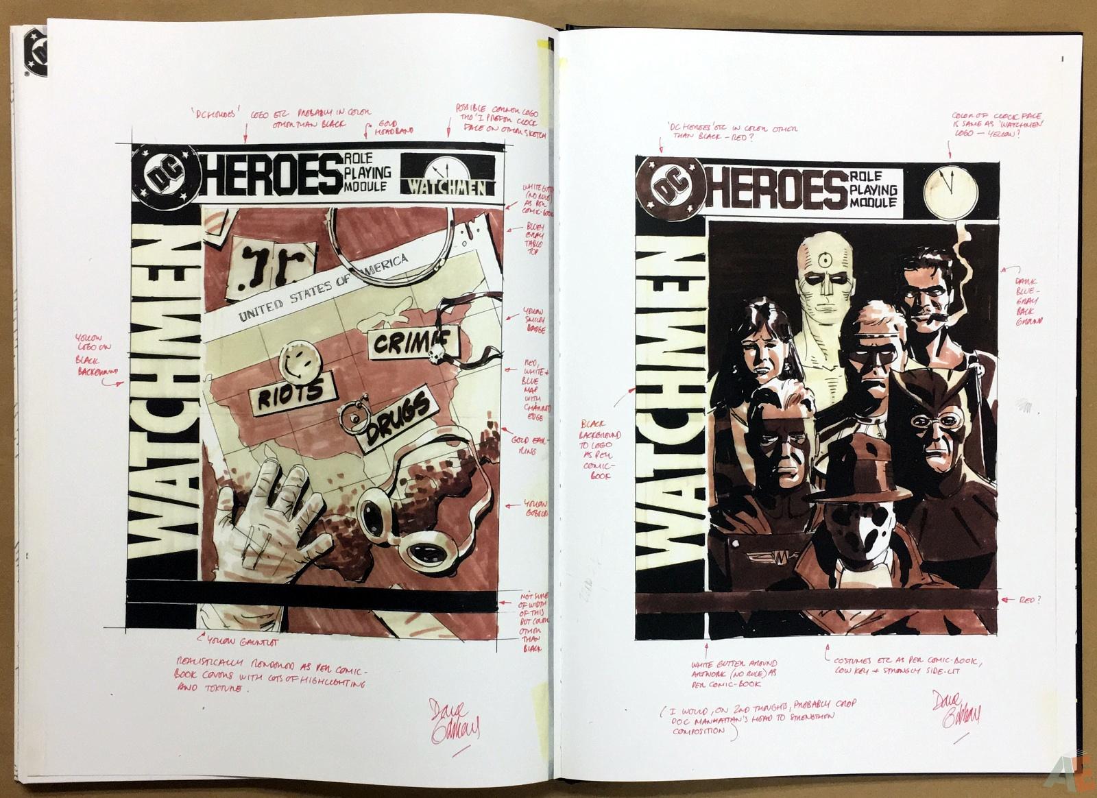 Dave Gibbons Watchmen Artifact Edition 42
