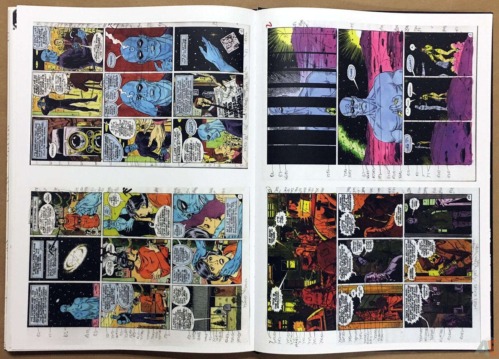 Dave Gibbons Watchmen Artifact Edition 44