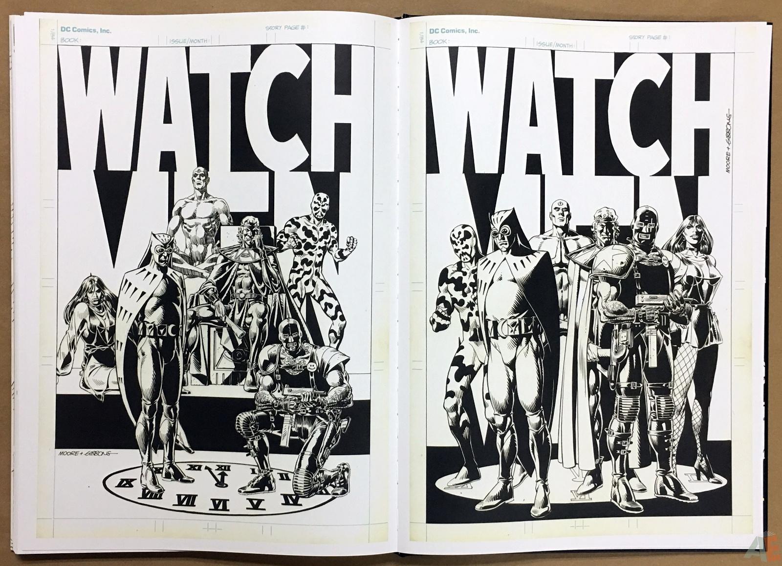 Dave Gibbons Watchmen Artifact Edition 46