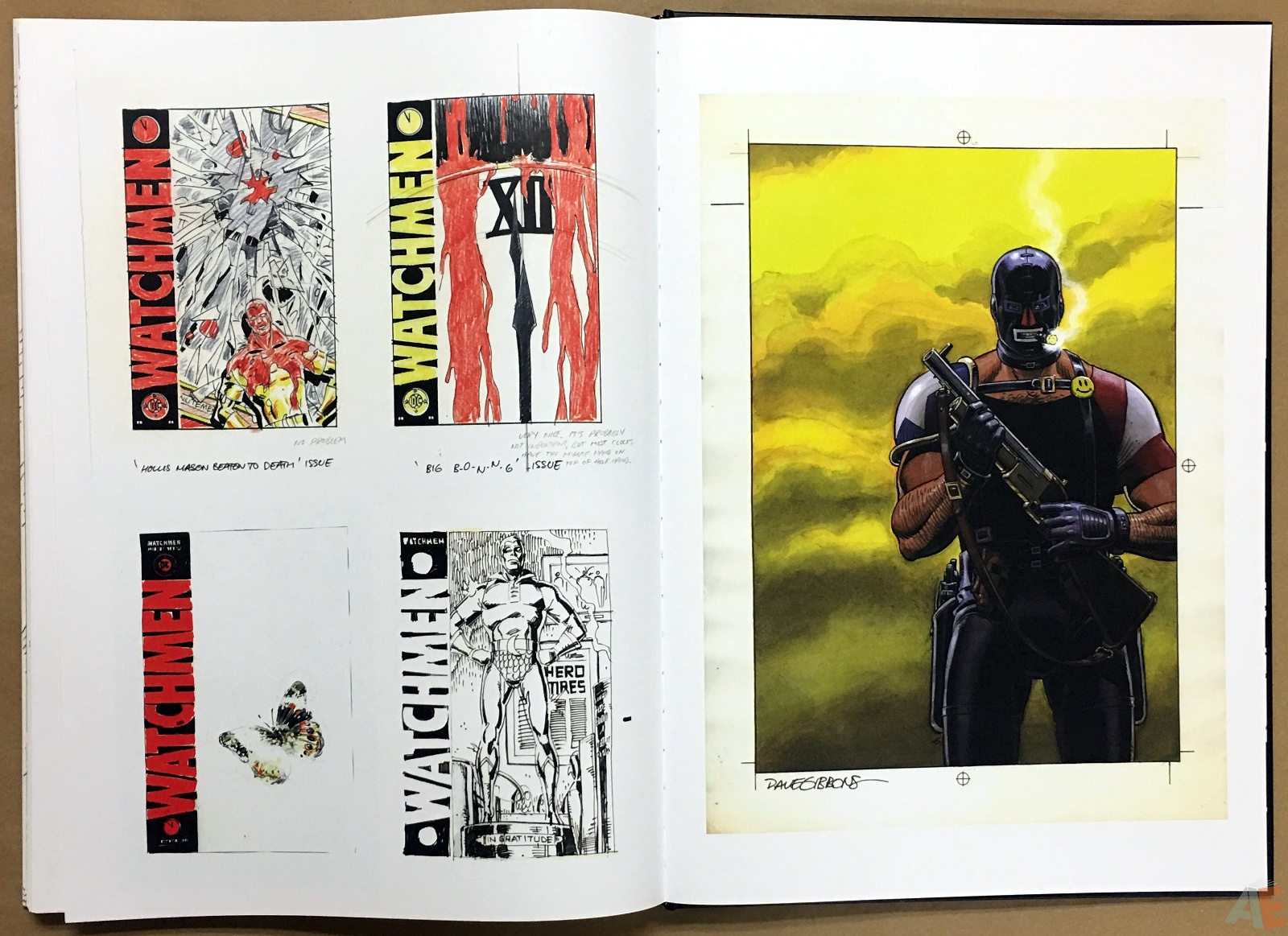 Dave Gibbons Watchmen Artifact Edition 48