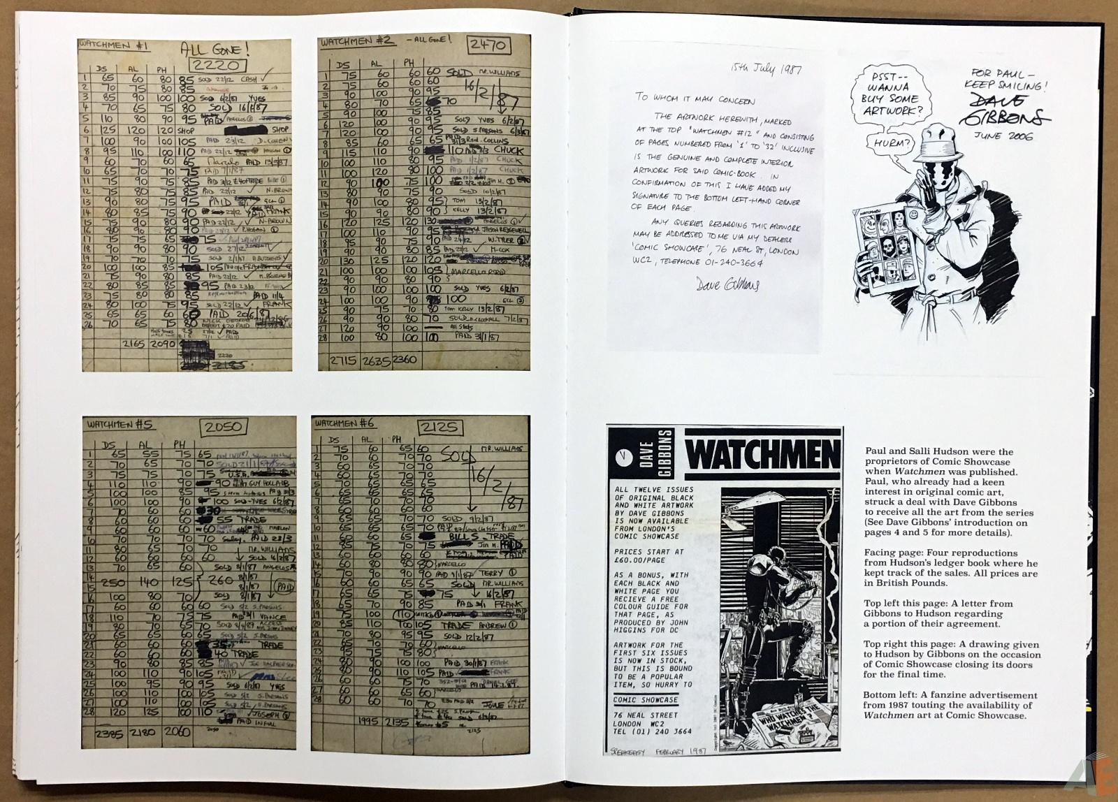 Dave Gibbons Watchmen Artifact Edition 50