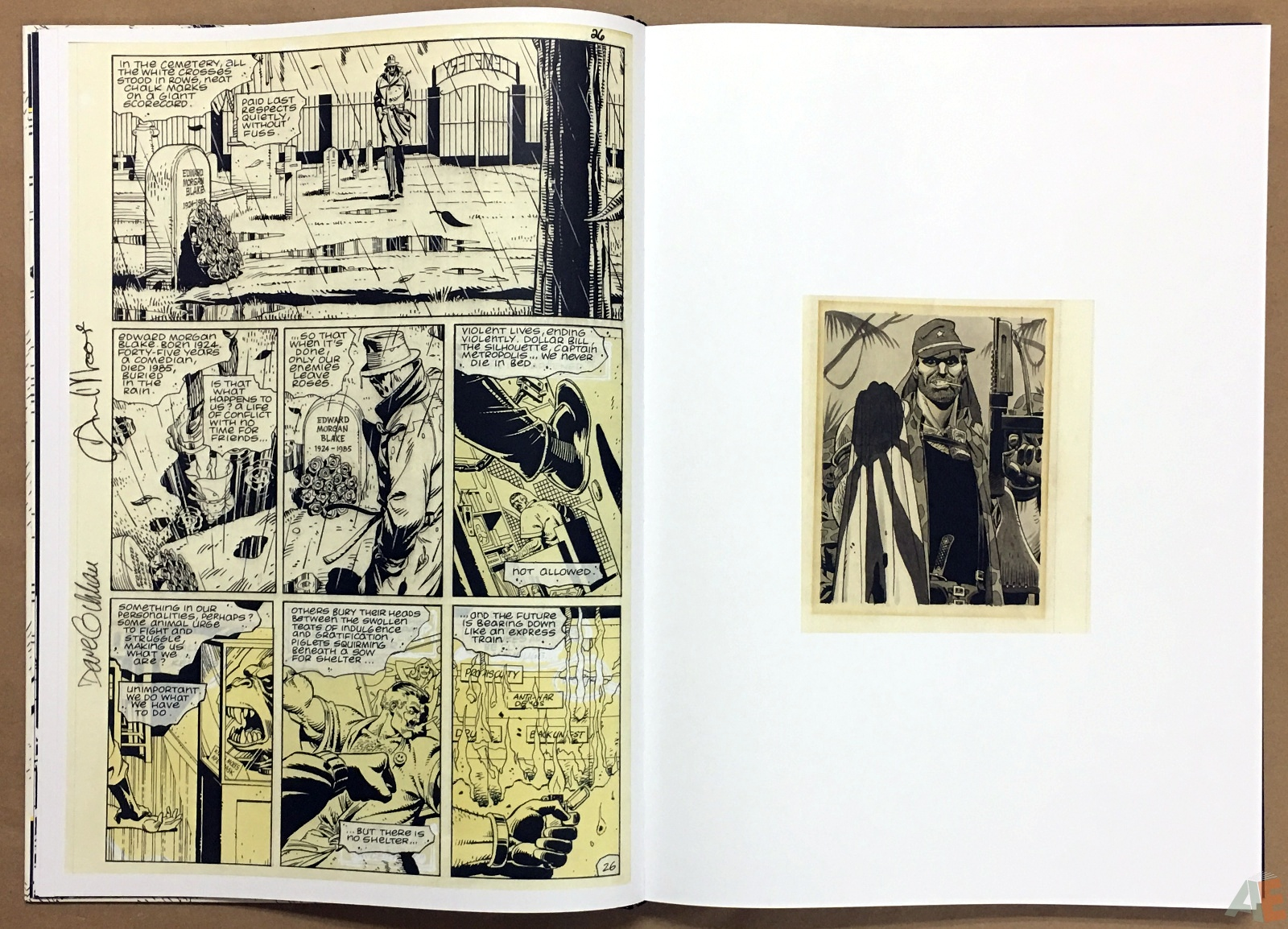 Dave Gibbons Watchmen Artifact Edition 12