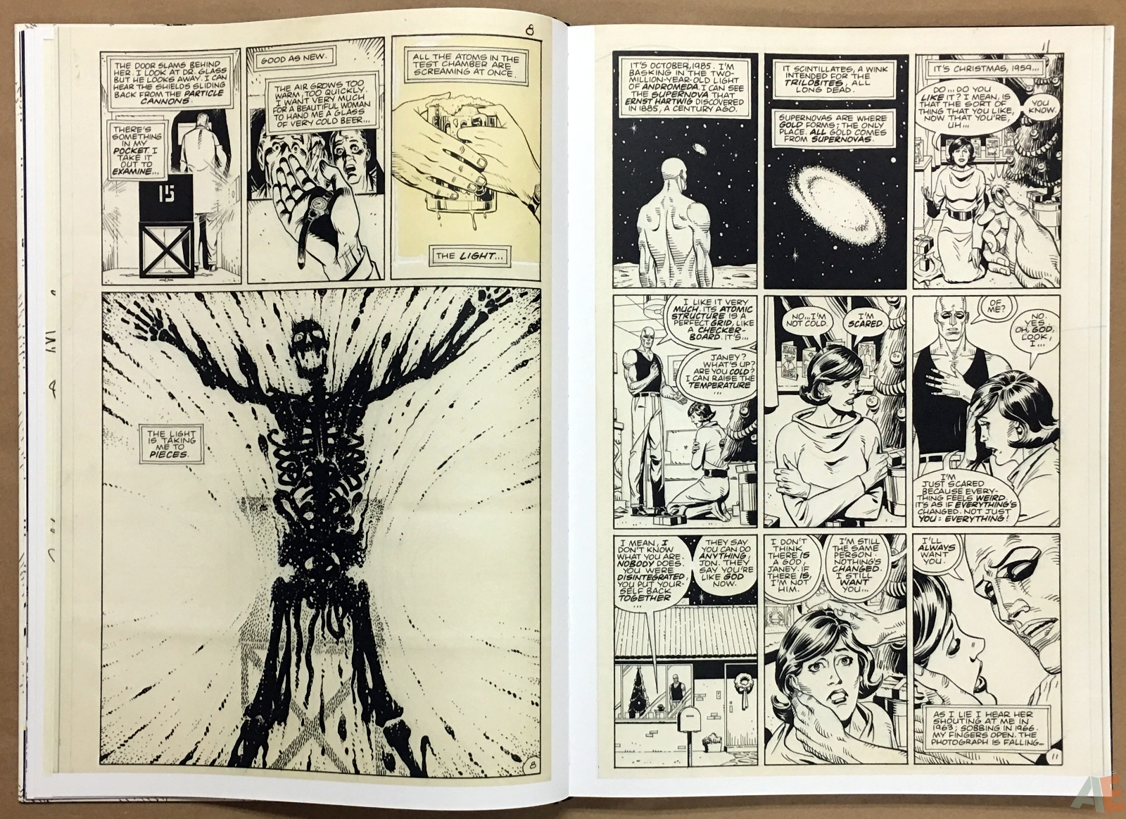 Dave Gibbons Watchmen Artifact Edition 14
