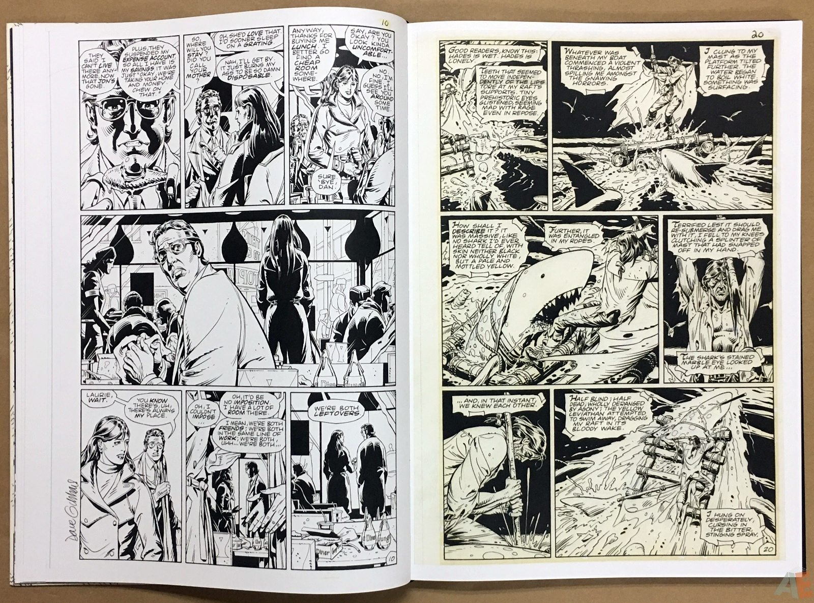 Dave Gibbons Watchmen Artifact Edition 16