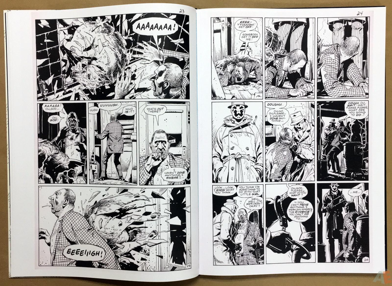 Dave Gibbons Watchmen Artifact Edition 18