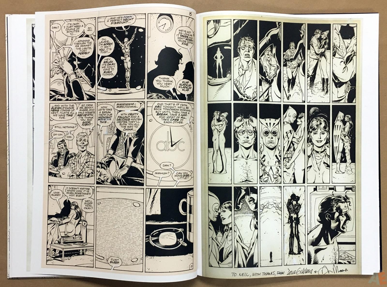 Dave Gibbons Watchmen Artifact Edition 20