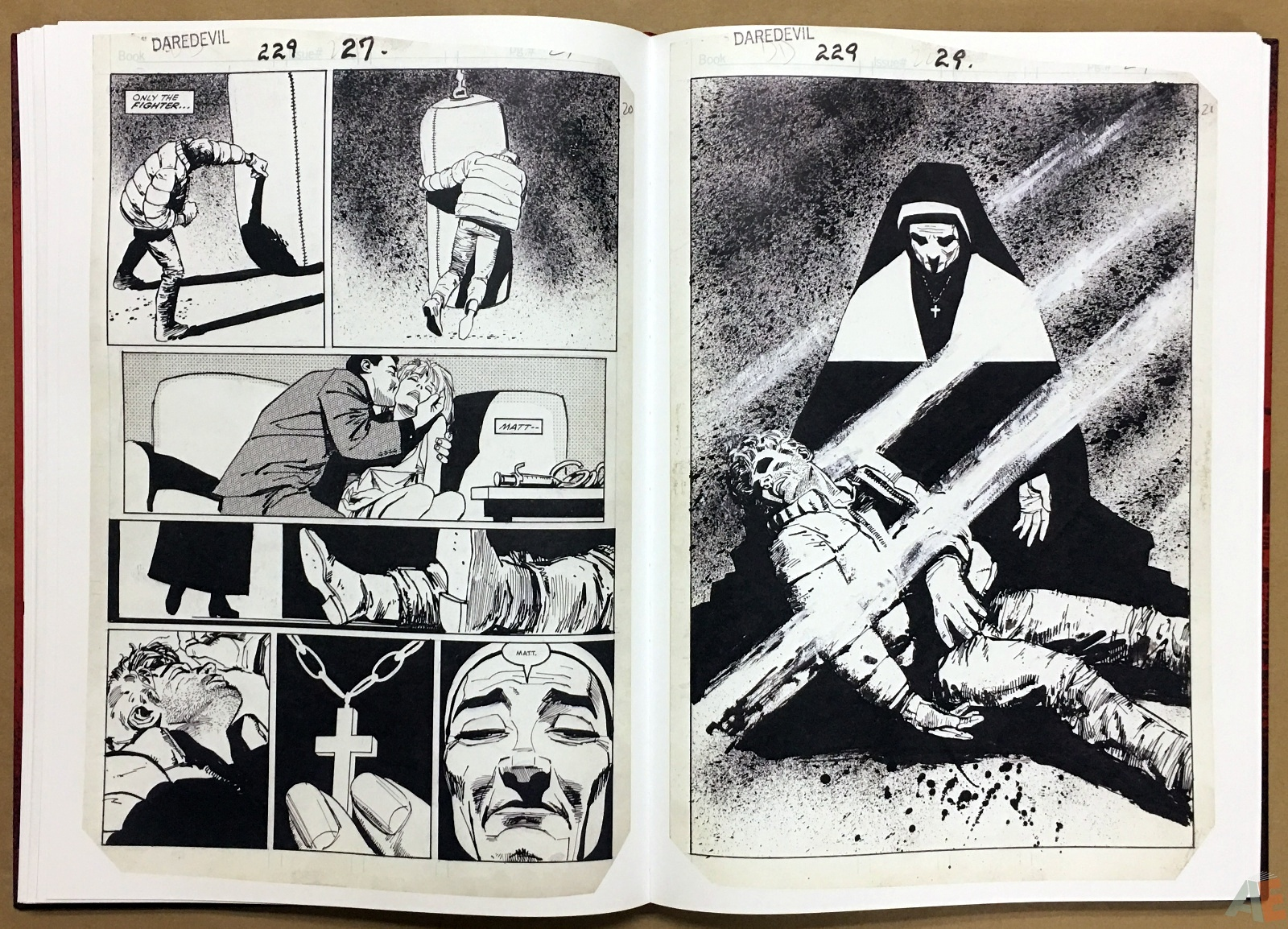 David Mazzucchelli's Daredevil Born Again: Artist's Edition 22
