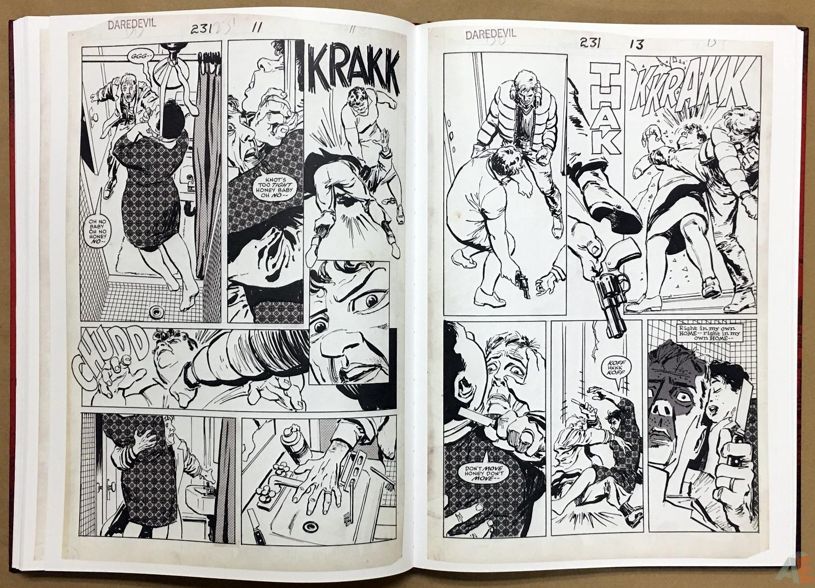 David Mazzucchelli's Daredevil Born Again: Artist's Edition 32