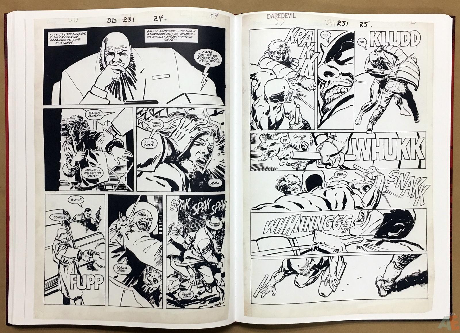 David Mazzucchelli's Daredevil Born Again: Artist's Edition 34