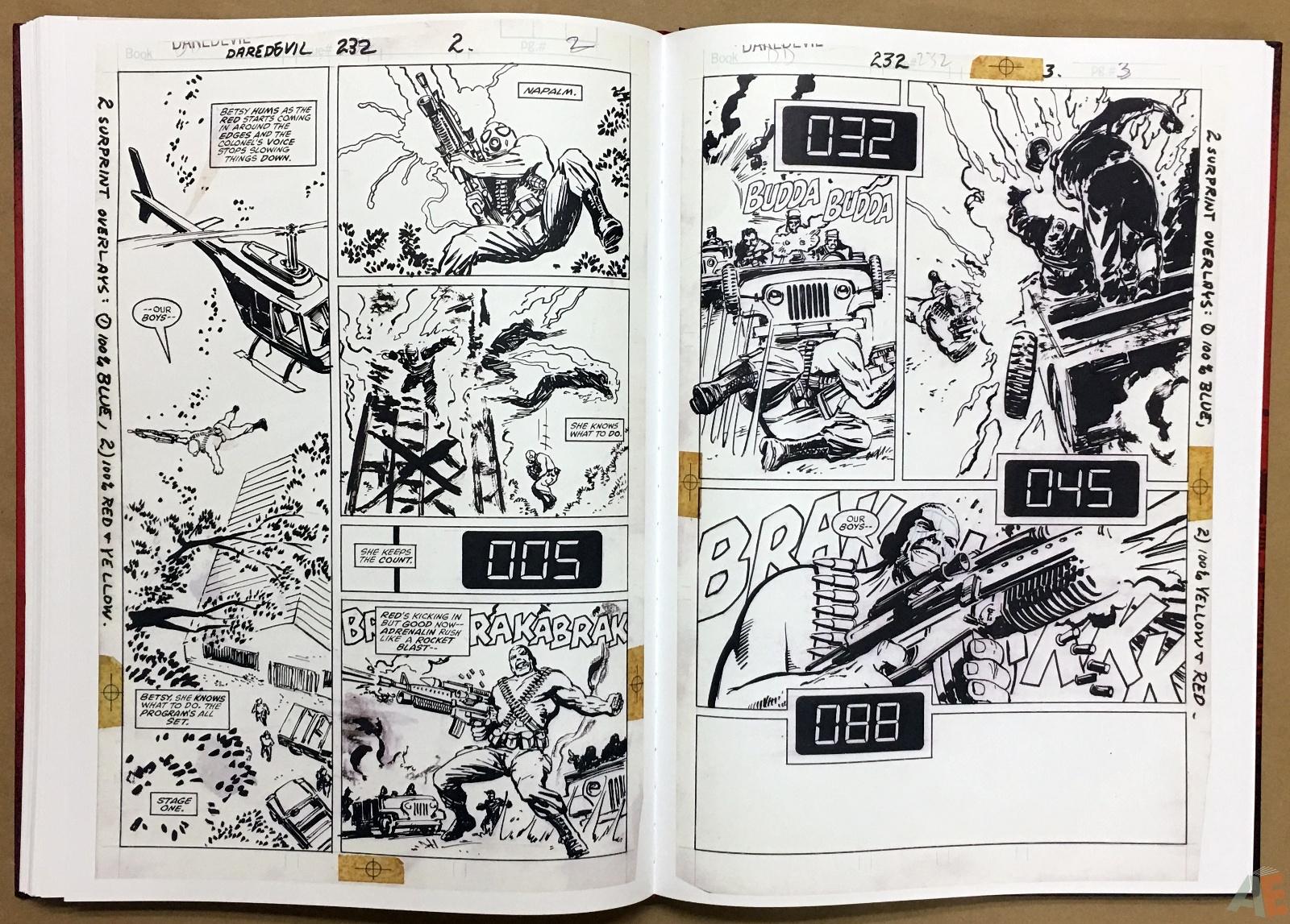 David Mazzucchelli's Daredevil Born Again: Artist's Edition 36