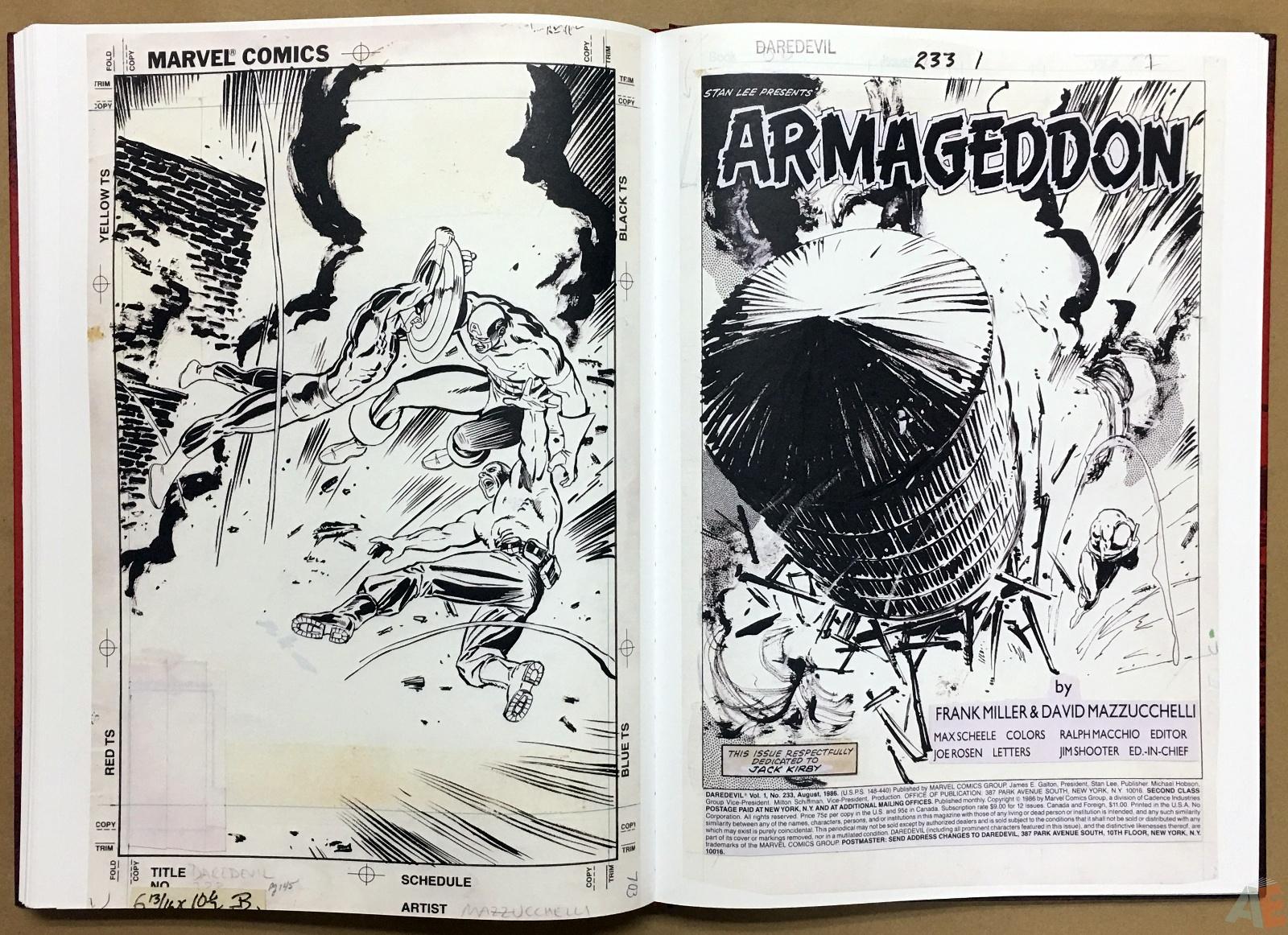 David Mazzucchelli's Daredevil Born Again: Artist's Edition 40