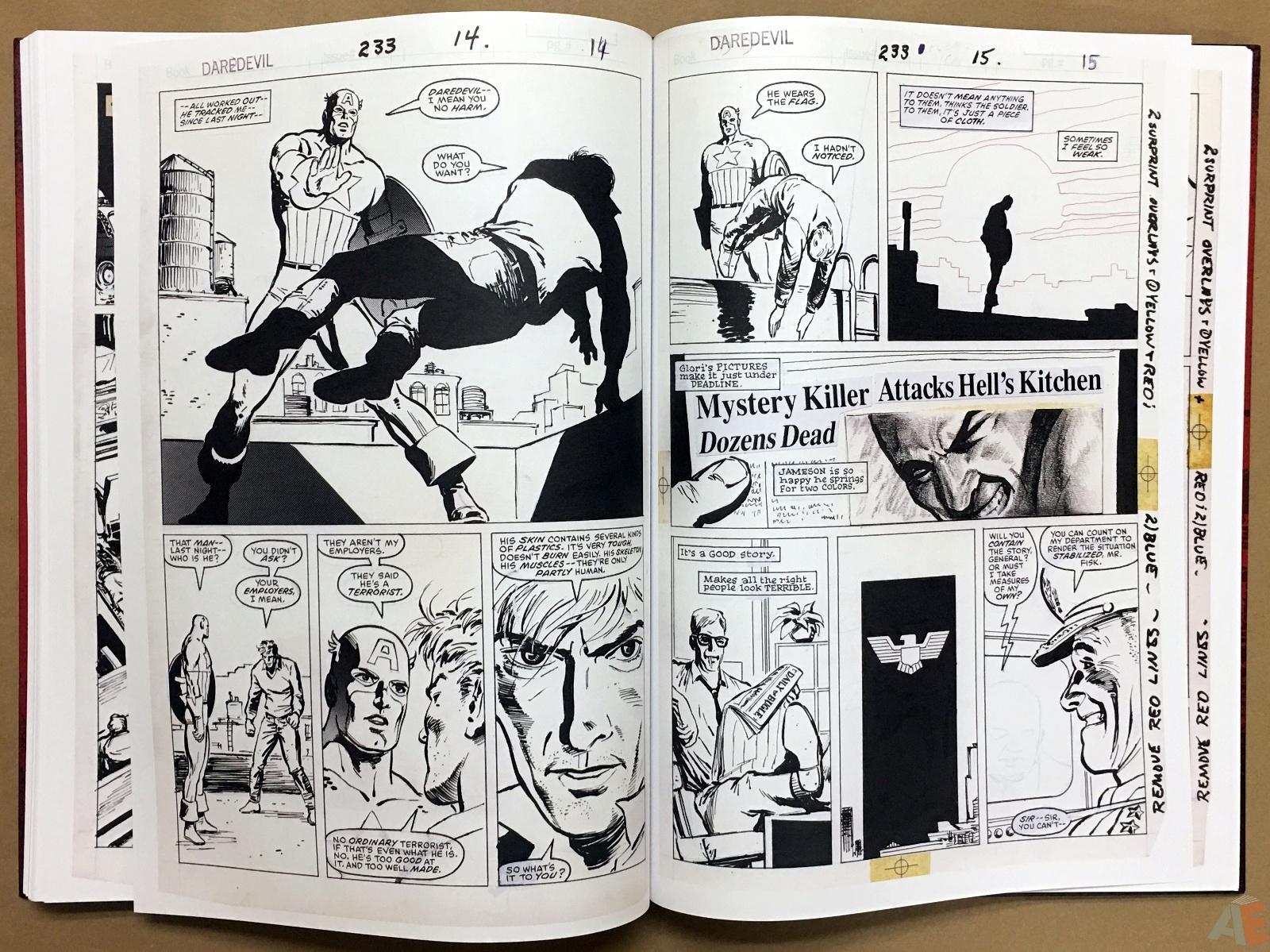 David Mazzucchelli's Daredevil Born Again: Artist's Edition 44