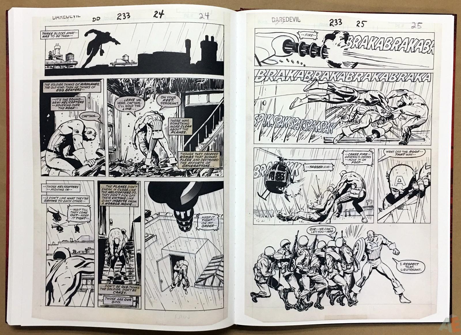 David Mazzucchelli's Daredevil Born Again: Artist's Edition 46