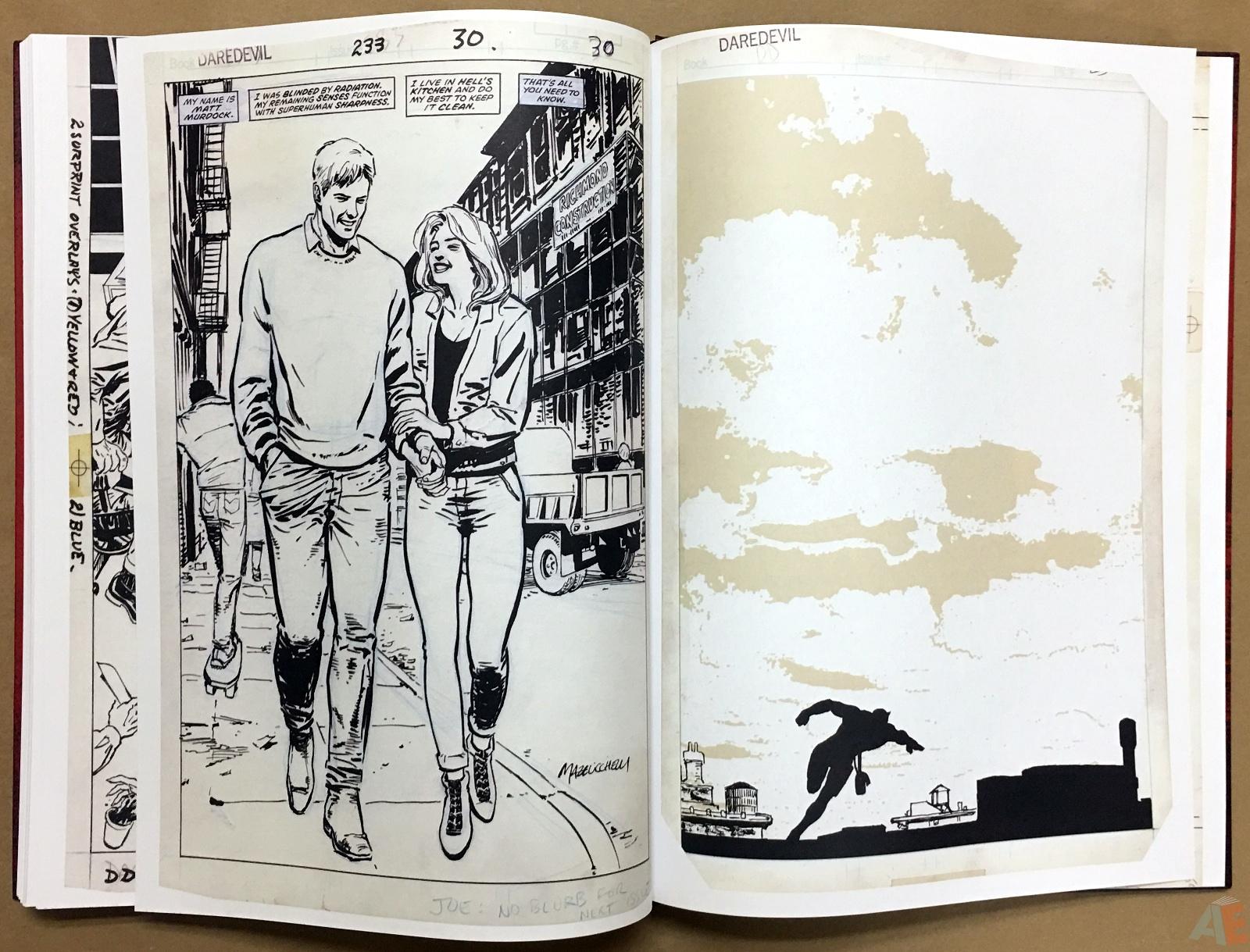 David Mazzucchelli's Daredevil Born Again: Artist's Edition 48