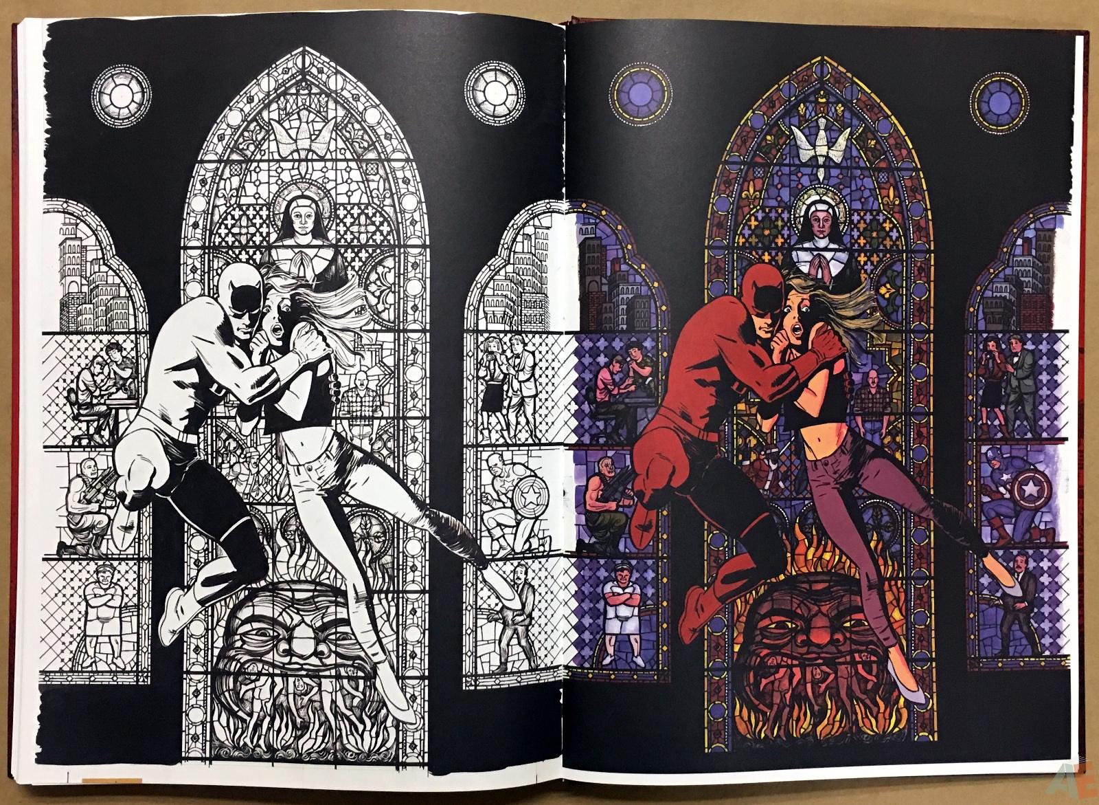David Mazzucchelli's Daredevil Born Again: Artist's Edition 52