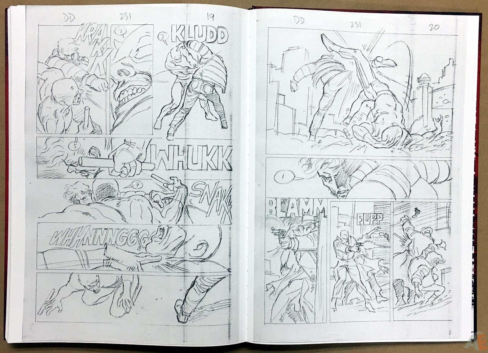 David Mazzucchelli's Daredevil Born Again: Artist's Edition 54