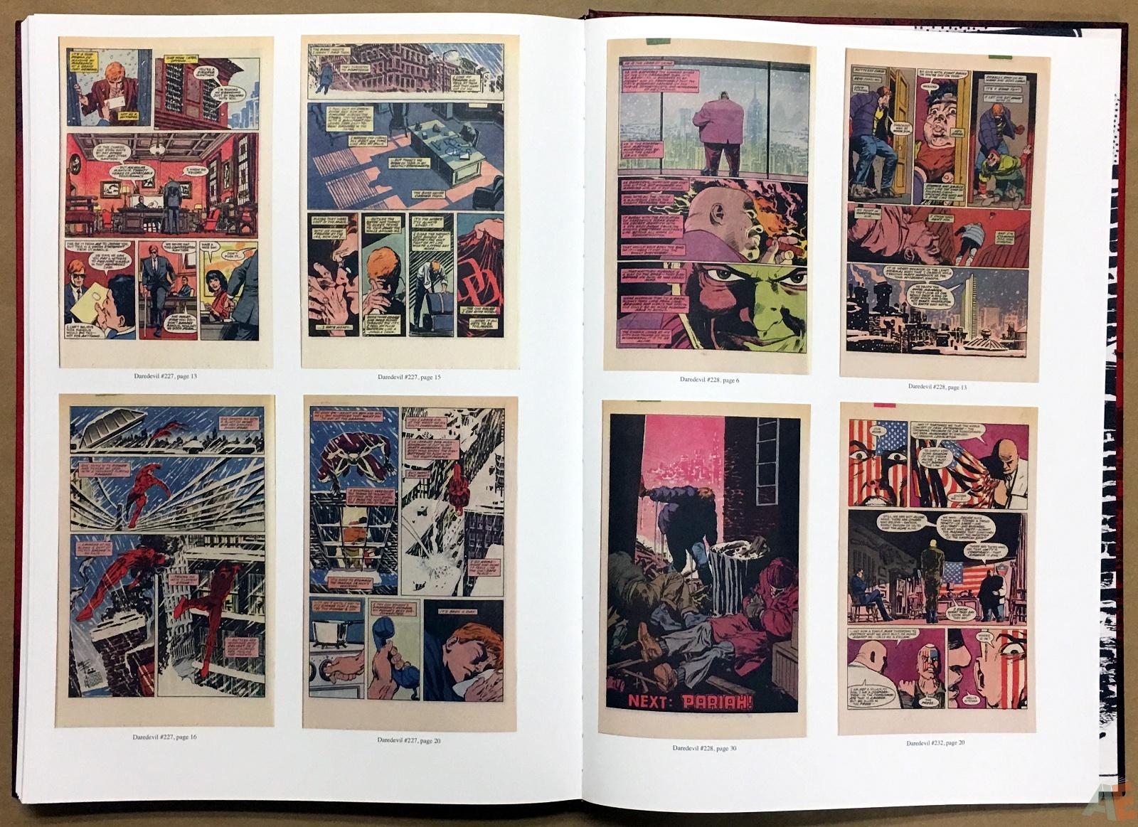 David Mazzucchelli's Daredevil Born Again: Artist's Edition 56