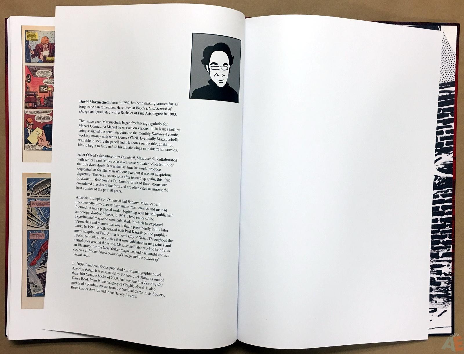 David Mazzucchelli's Daredevil Born Again: Artist's Edition 58
