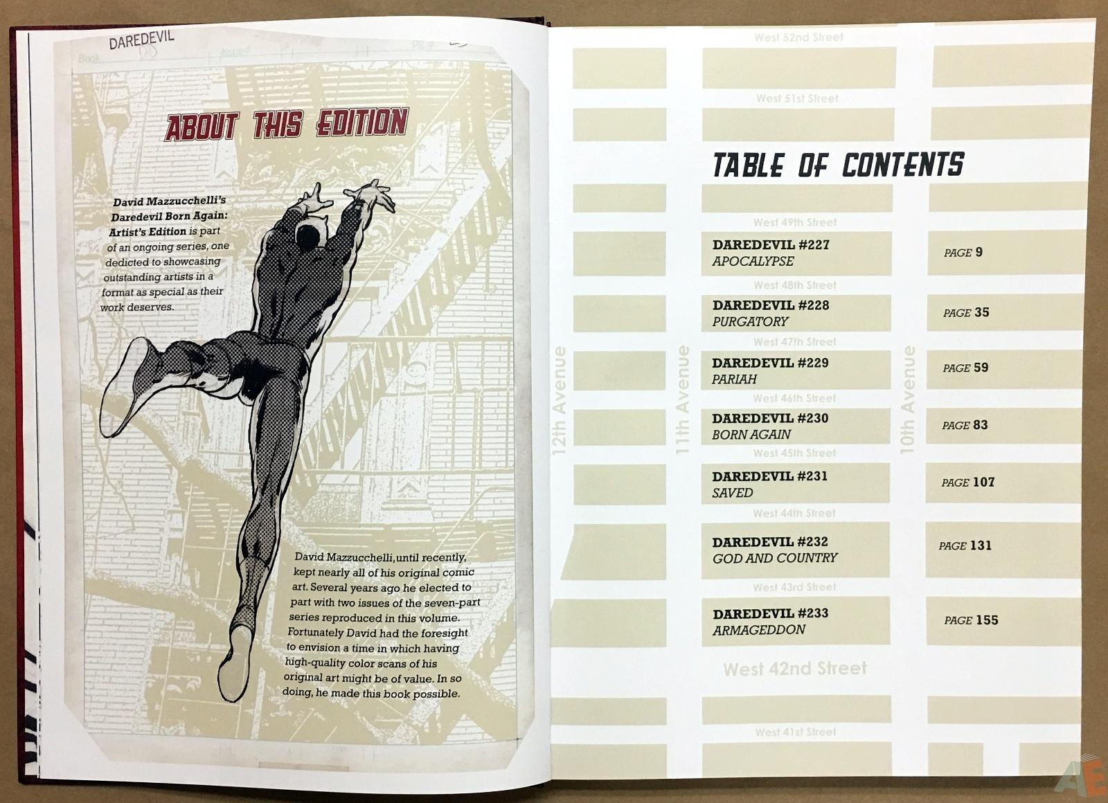David Mazzucchelli's Daredevil Born Again: Artist's Edition 8