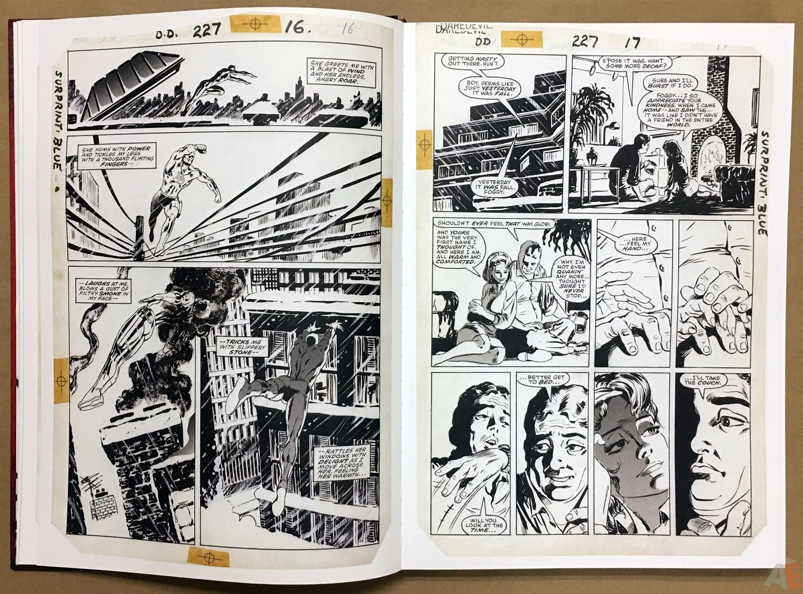 David Mazzucchelli's Daredevil Born Again: Artist's Edition 10