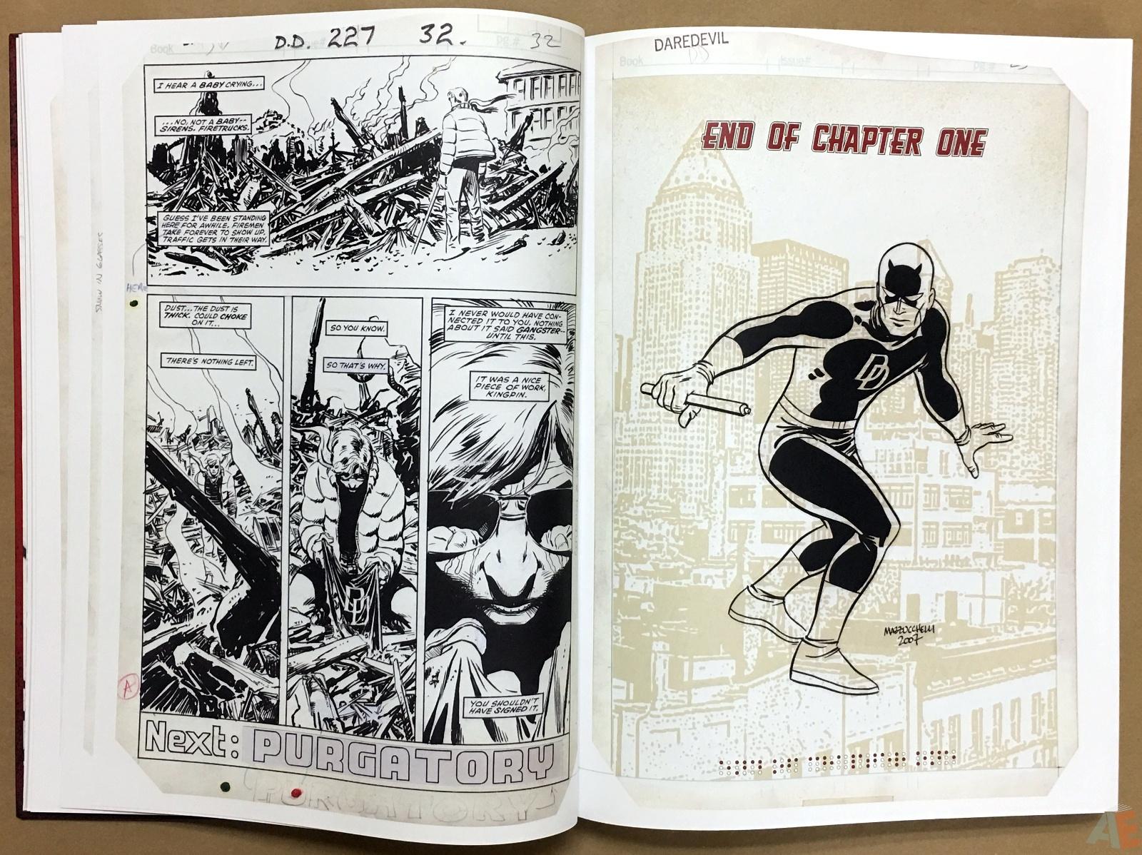 David Mazzucchelli's Daredevil Born Again: Artist's Edition 12
