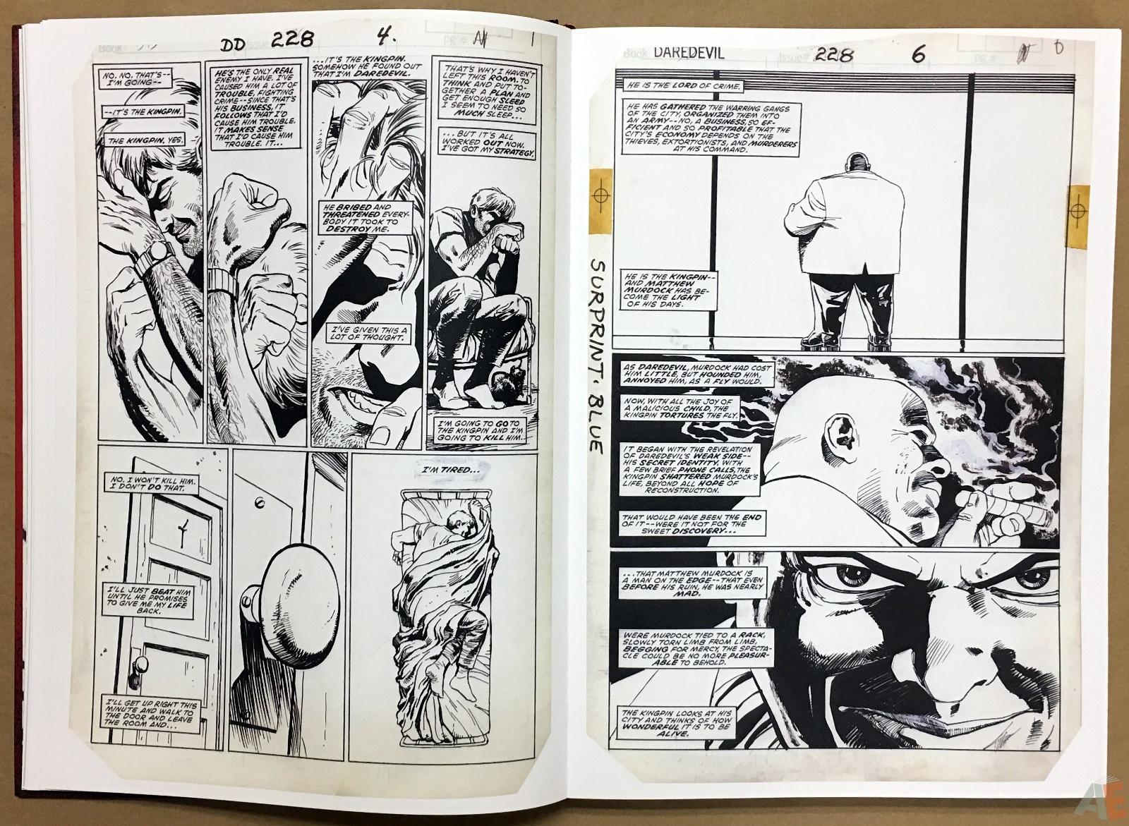 David Mazzucchelli's Daredevil Born Again: Artist's Edition 14