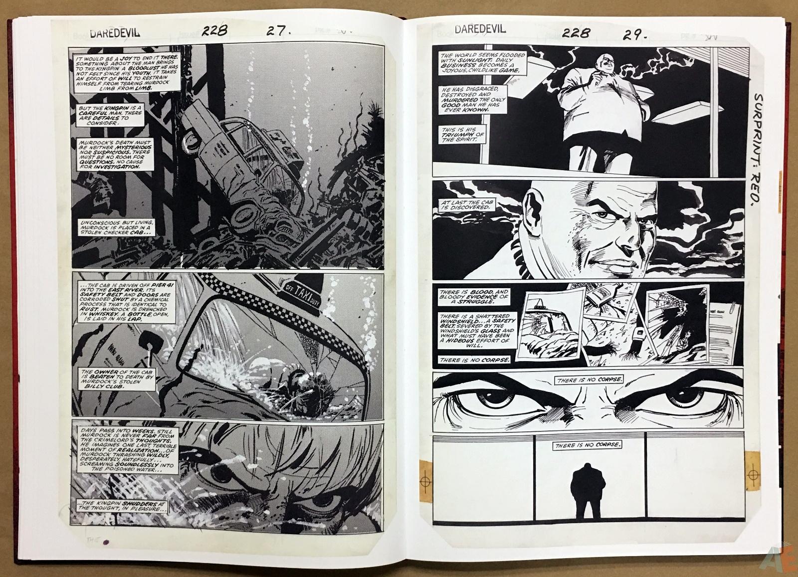David Mazzucchelli's Daredevil Born Again: Artist's Edition 16