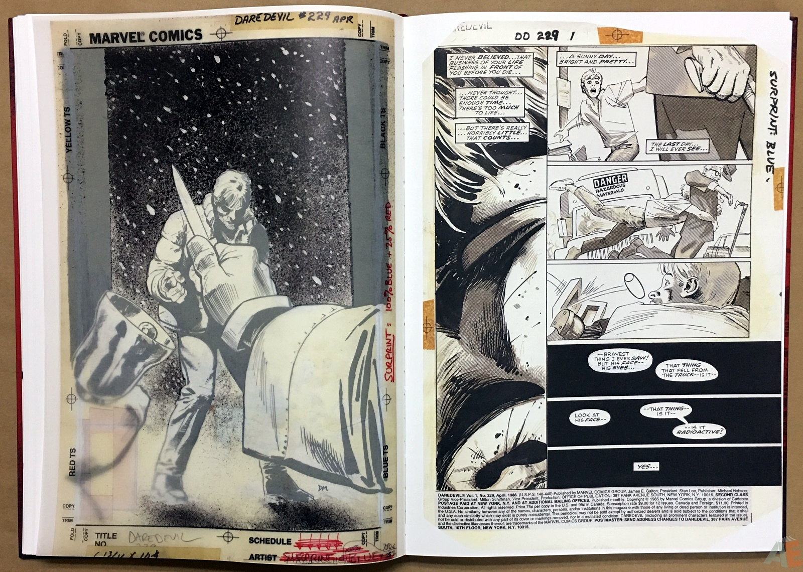 David Mazzucchelli's Daredevil Born Again: Artist's Edition 18