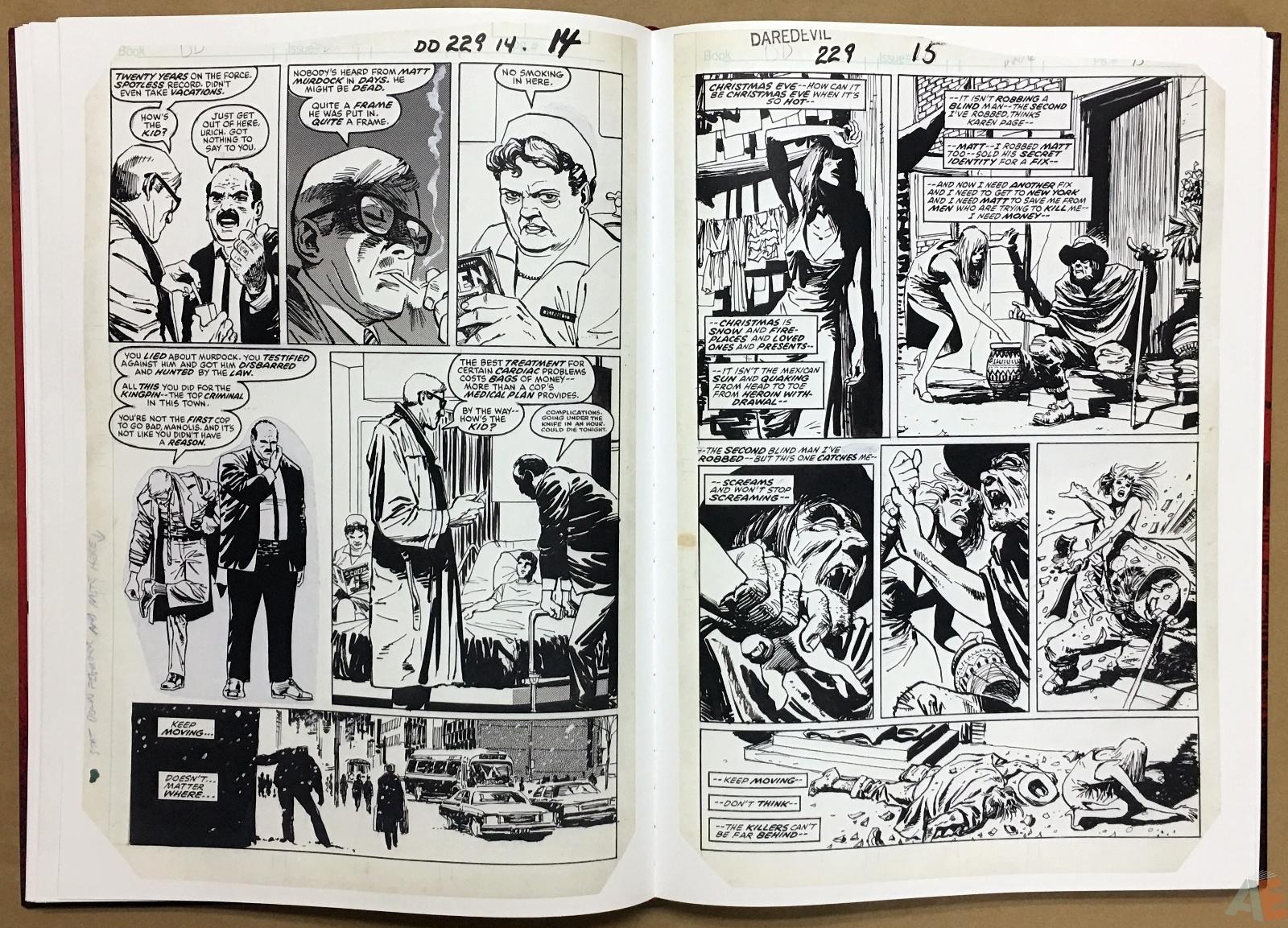 David Mazzucchelli's Daredevil Born Again: Artist's Edition 20
