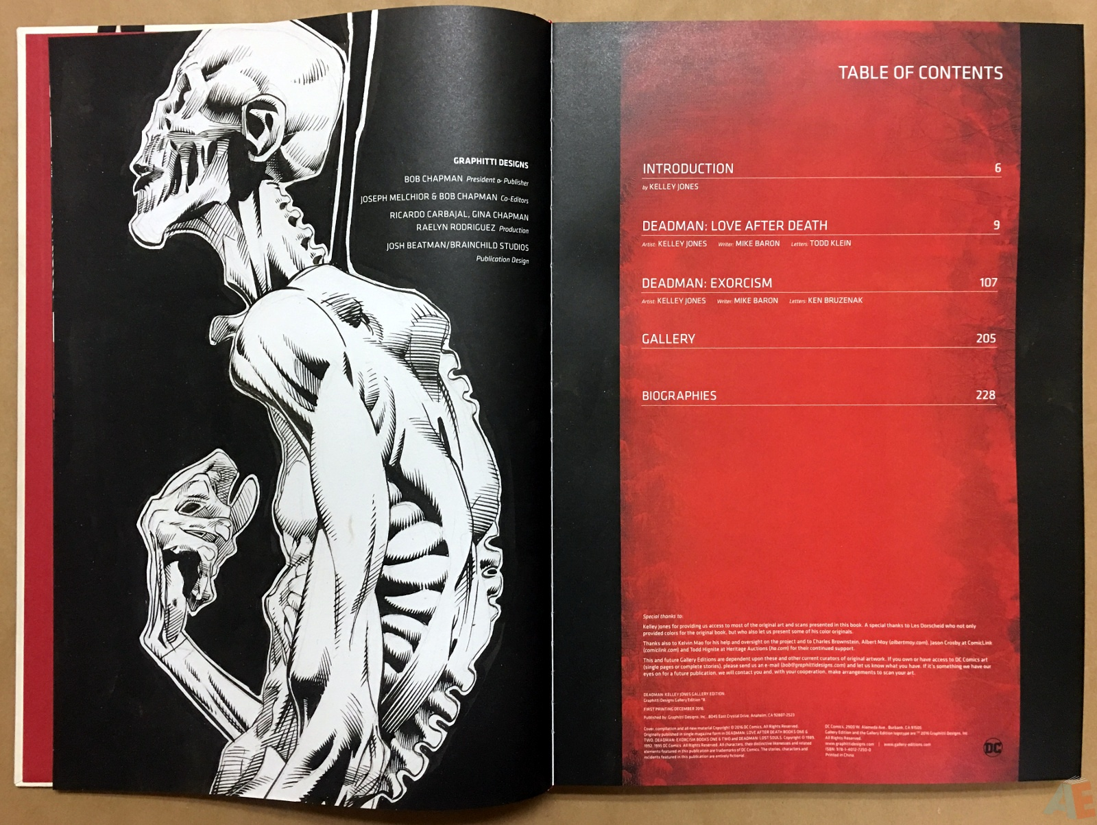 Deadman: Kelley Jones Gallery Edition 4