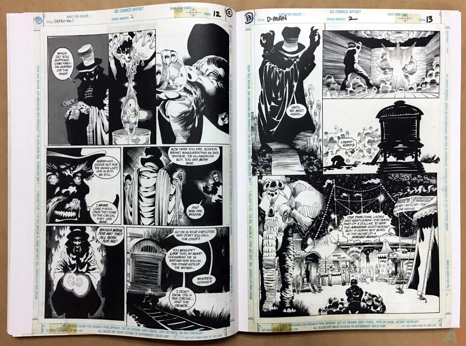 Deadman: Kelley Jones Gallery Edition 24