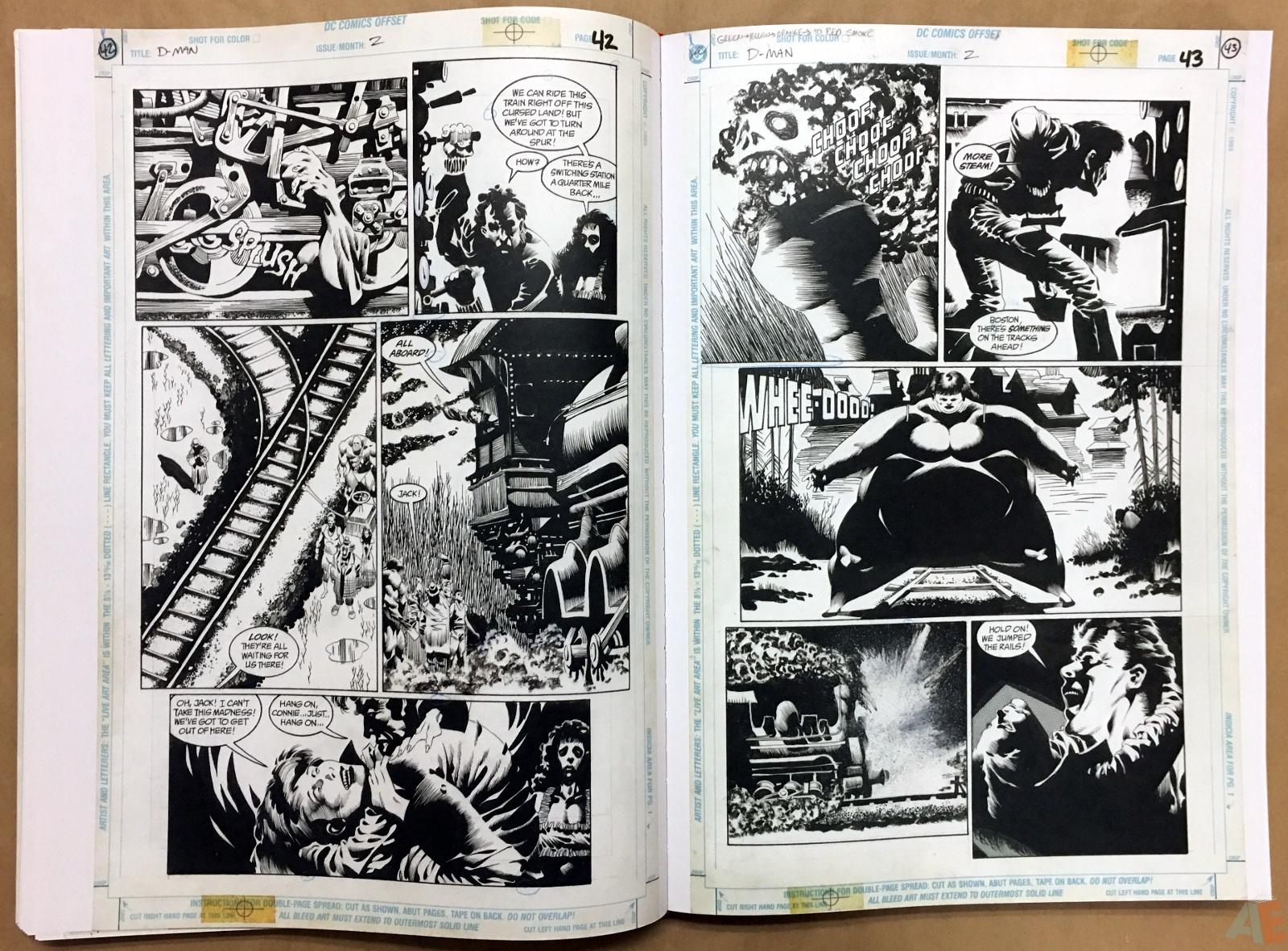 Deadman: Kelley Jones Gallery Edition 28