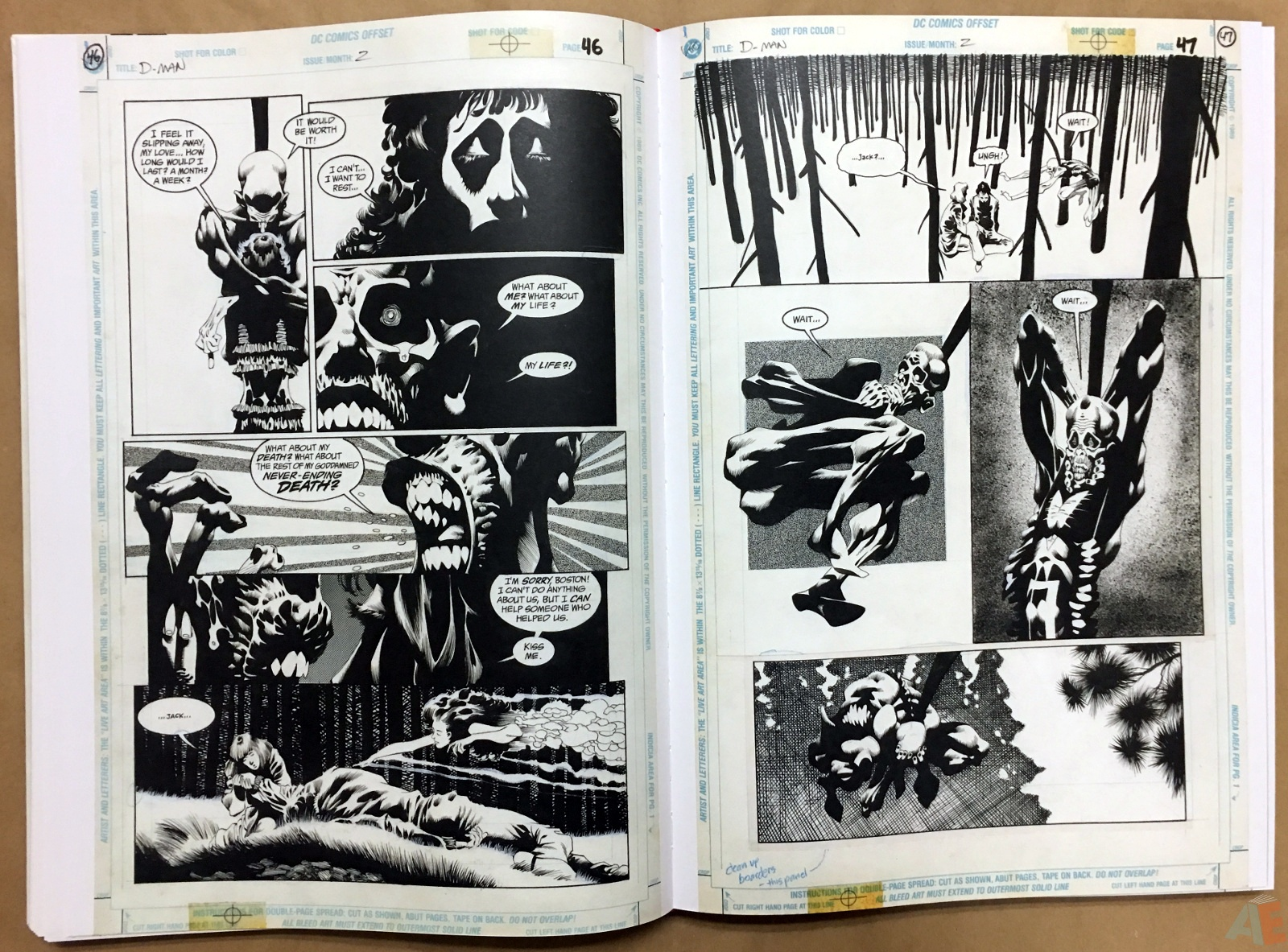 Deadman: Kelley Jones Gallery Edition 30
