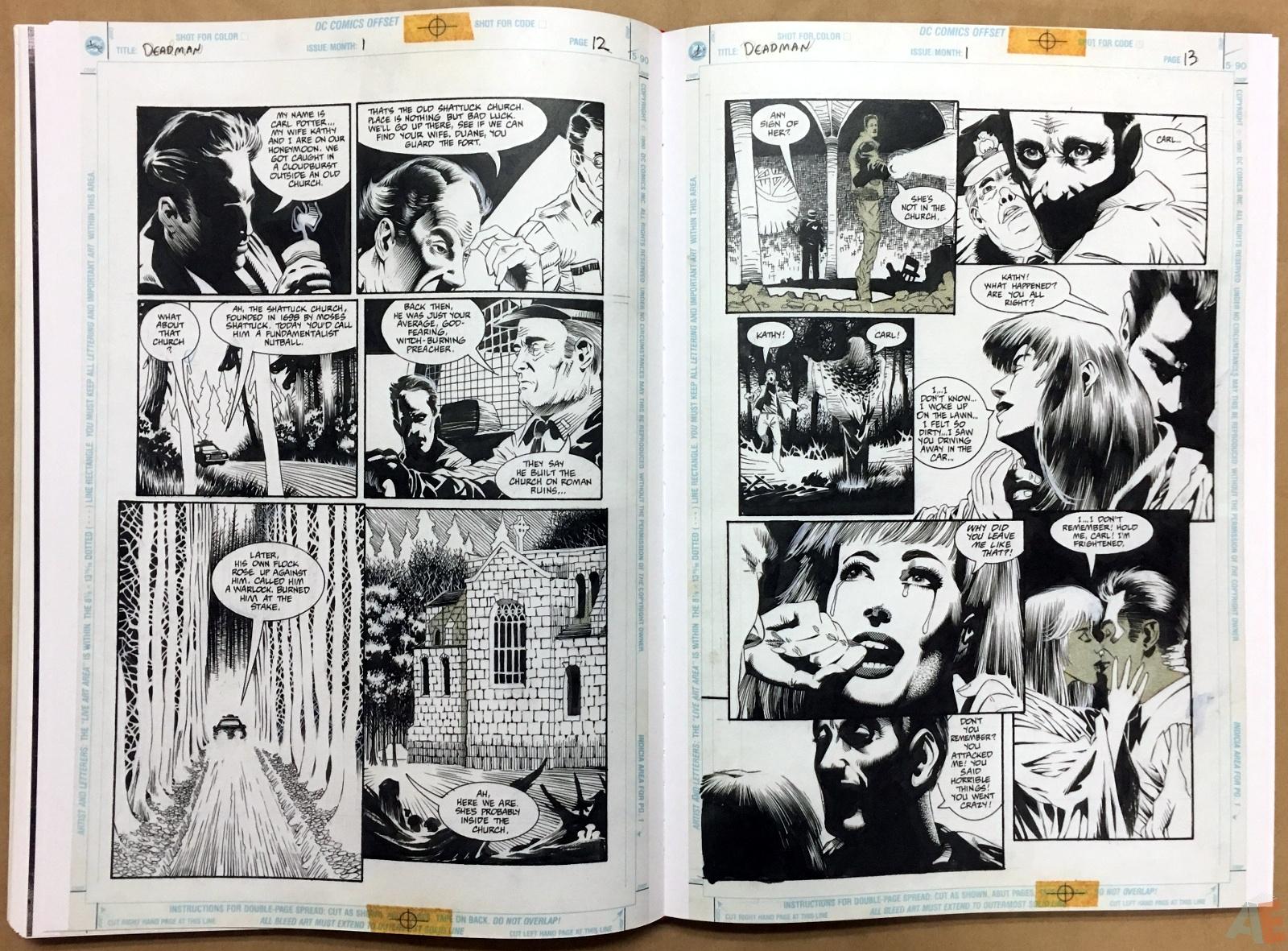 Deadman: Kelley Jones Gallery Edition 34