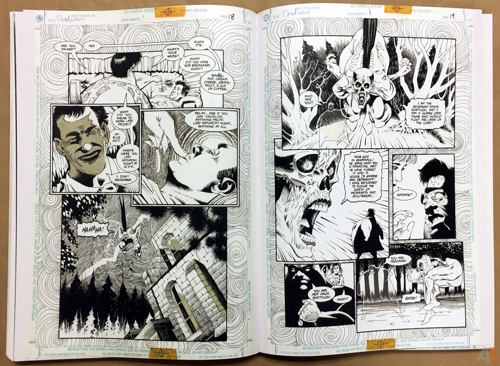 Deadman: Kelley Jones Gallery Edition 36