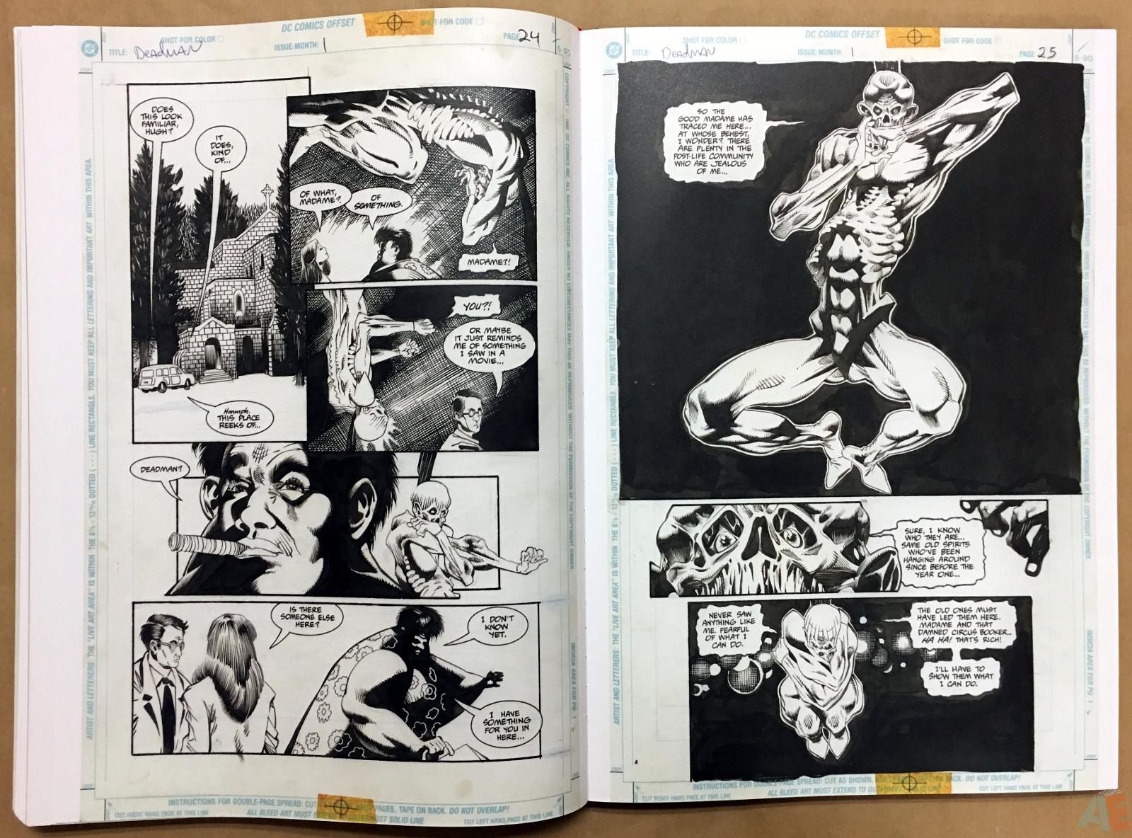 Deadman: Kelley Jones Gallery Edition 38