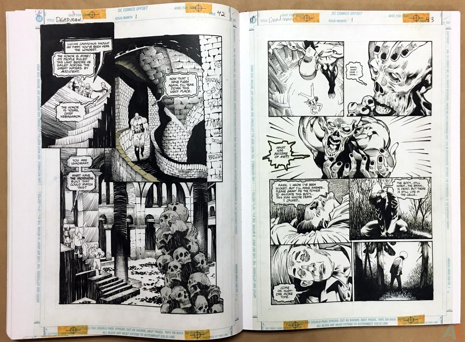 Deadman: Kelley Jones Gallery Edition 40