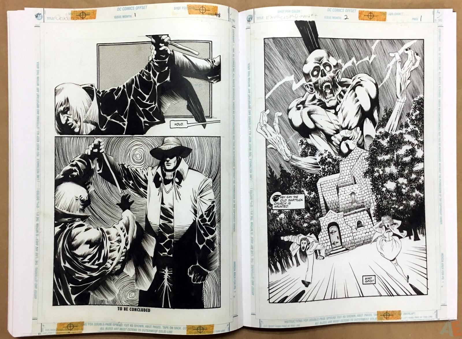 Deadman: Kelley Jones Gallery Edition 42