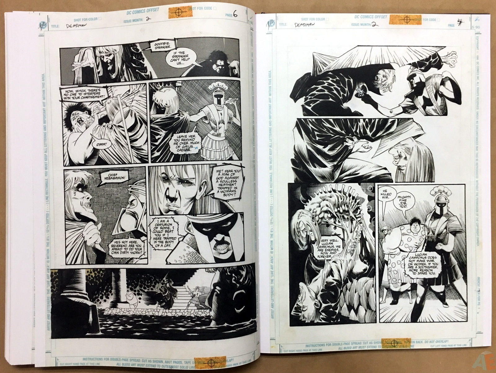 Deadman: Kelley Jones Gallery Edition 44
