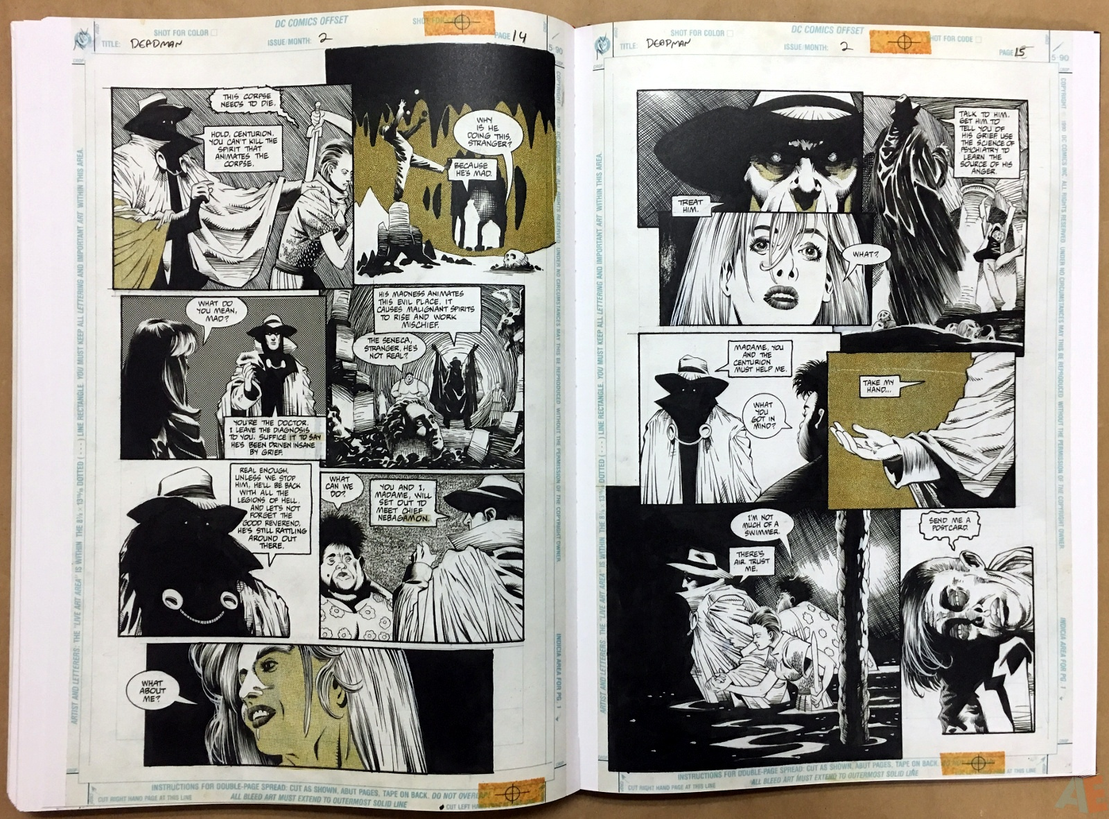 Deadman: Kelley Jones Gallery Edition 46