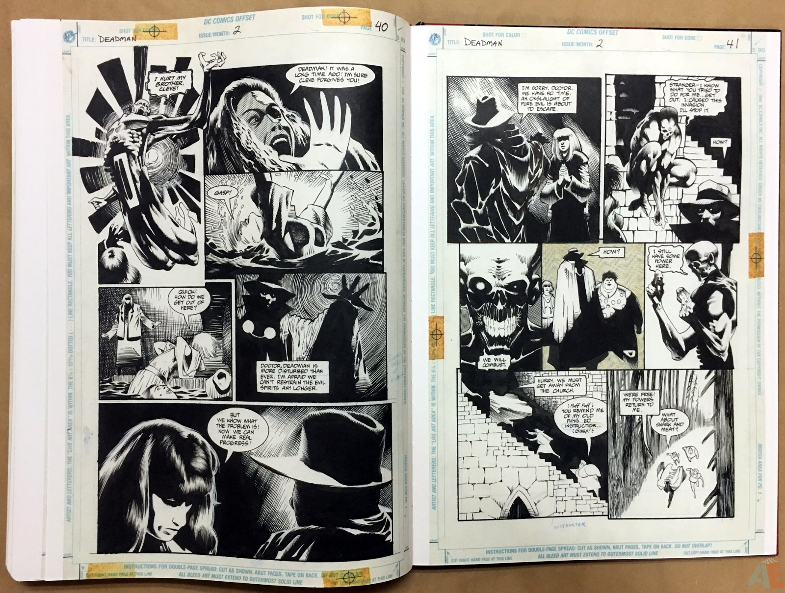 Deadman: Kelley Jones Gallery Edition 50