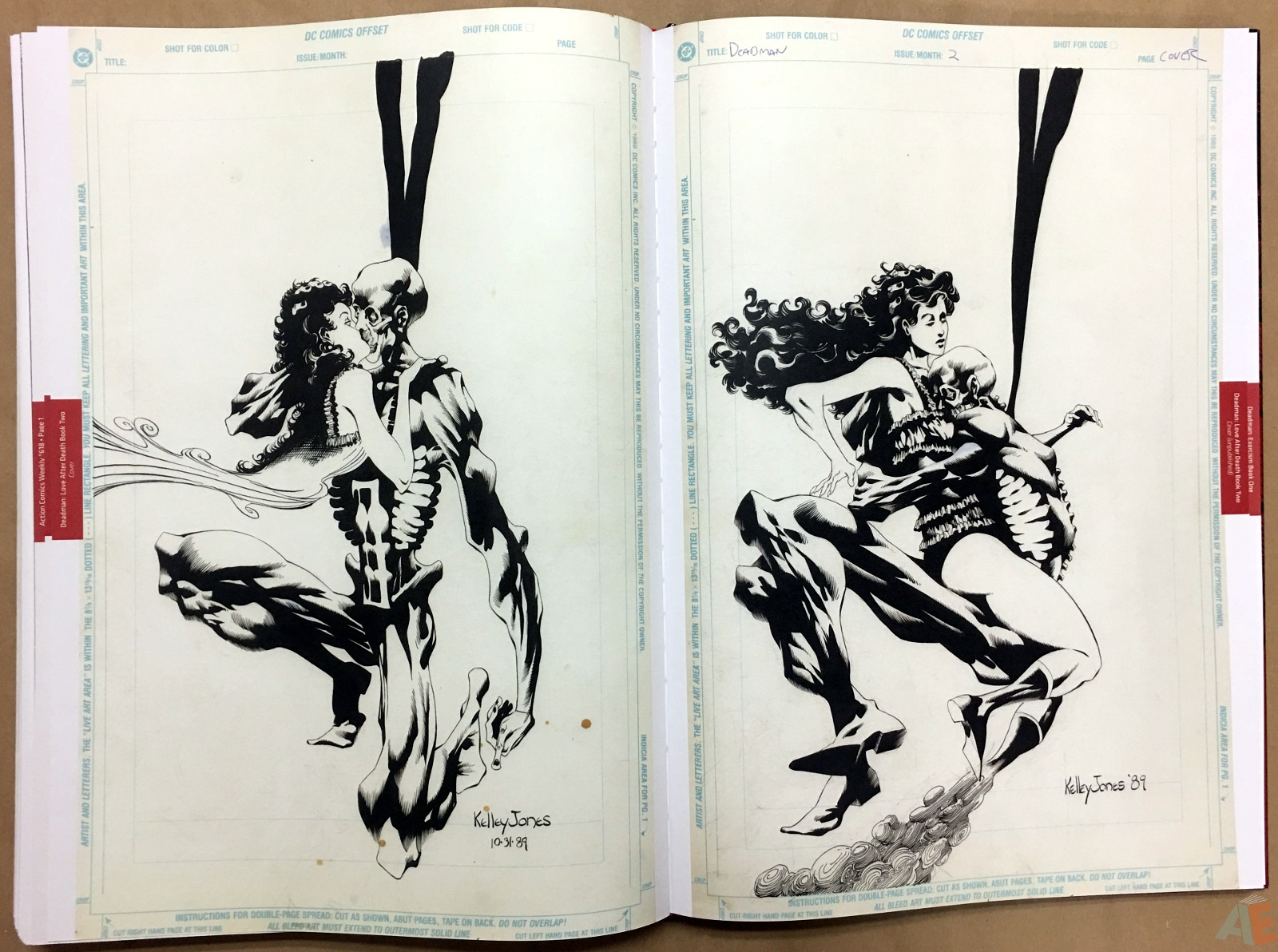 Deadman: Kelley Jones Gallery Edition 54